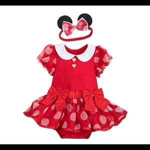 Minnie Mouse costume with headband